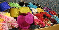 Copy of Hats and boas